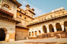 Orchha Fort Raja Mahal, Ancien...