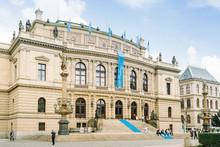 The Rudolfinum, Home Of The Cz...