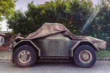 Covered Vintage Old Military V...