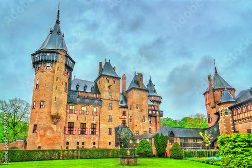 Foto op Canvas Europa De Haar Castle near Utrecht, Netherlands