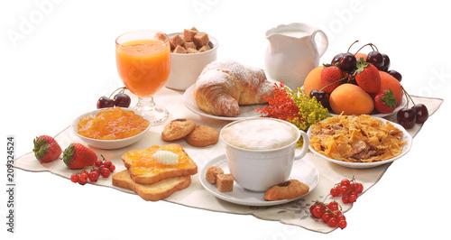 Obraz na płótnie Prima colazione italiana