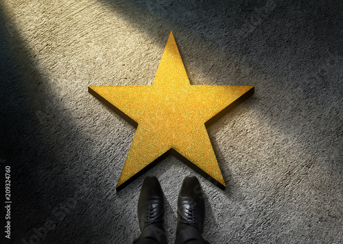 Fotografie, Obraz Success in Business or Personal Talent Concept