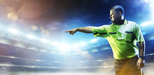 Professional Soccer Referee On...