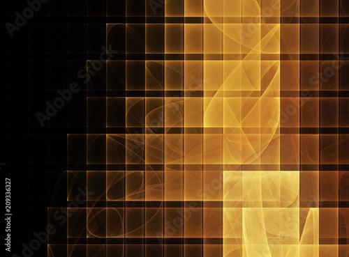 Fotografie, Obraz  abstract fractal background, texture,