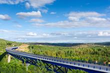 Highway Bridge Over Extremadur...
