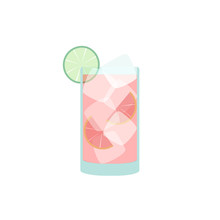 Grapefruit Juice Cocktail Sea ...
