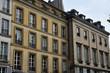 Leinwanddruck Bild Versailles; France - june 10 2018 : Notre Dame district