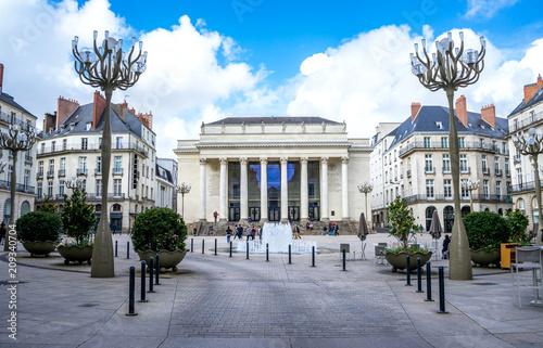 Fotografía  Place Graslin, Nantes