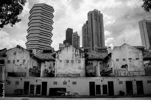 Foto op Plexiglas New York TAXI Singapour
