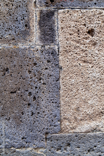 Photo texture Armenian tuff