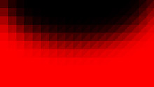 Red Black Low Poly Vector Background