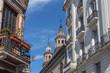 San Telmo neighborhood buildings and San Pedro Telmo Church - Buenos Aires, Argentina