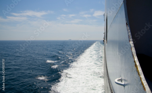 Photo  Cruise ship at sea