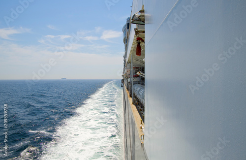 Photo  Cruise ship at sea