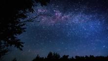 Beautiful Starry Sky Of The Milky Way