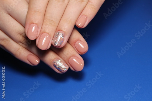 Aluminium Prints Manicure Youth manicure design