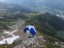 Alpy, Francja, Tour Du Mont Bl...