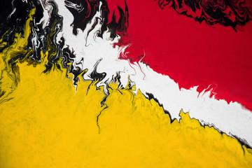 Fototapeta Abstrakcja abstract fluid acrylic painting on canvas