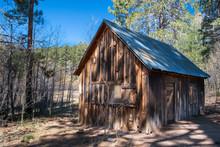 Front Of Spencer Cabin