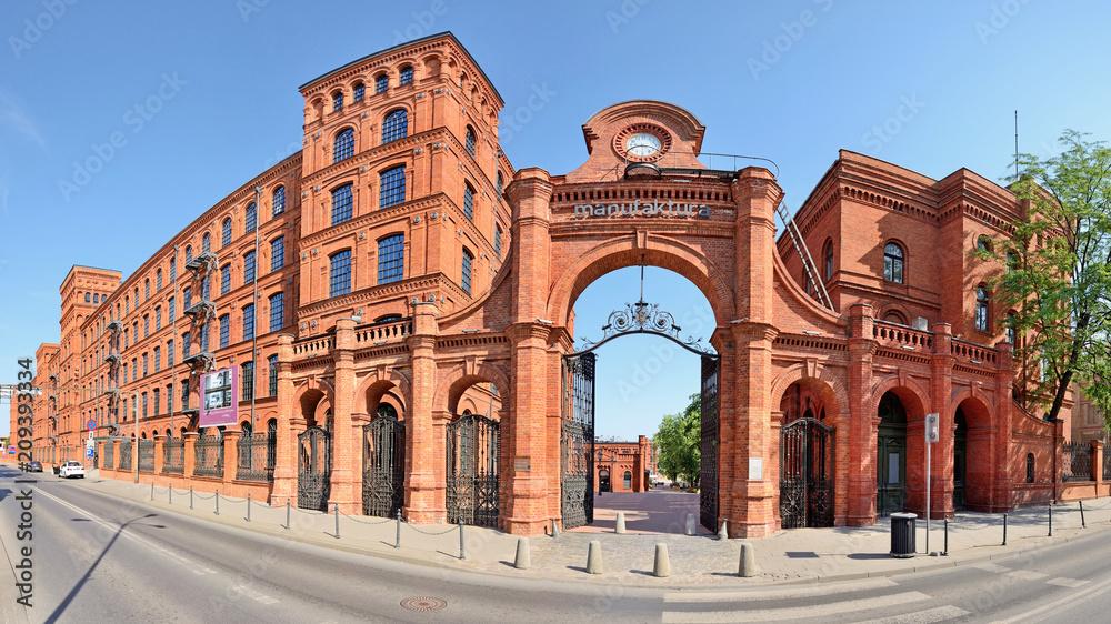 Fototapeta Manufaktura- Łódź, Polska