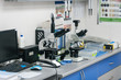 medical laboratory in the veterinary clinic