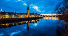 Perth River Scotland