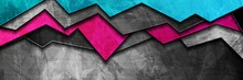 Abstract Bright Grunge Banner ...