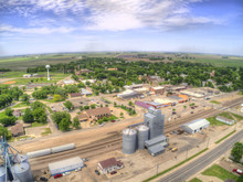 A Small Dakota Town During Nor...