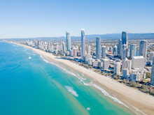 Surfers Paradise Beach From An...