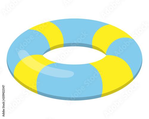 Fototapeta 浮き輪
