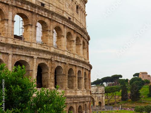 Fotografia, Obraz  Colosseum in Roma, Italia
