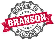 Branson Round Ribbon Seal