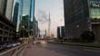 Traffic Business Bay Dubai timelapse