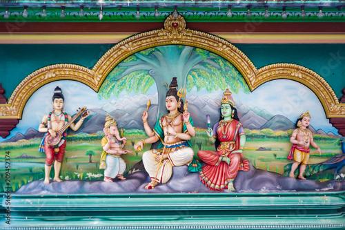 Foto op Canvas Asia land Kuala Lumpur temple in Malaysia