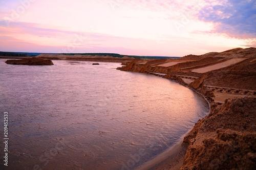 Foto op Plexiglas Bruin пустыня