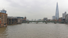 London Thames Cityscape