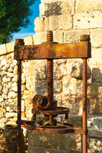 Traditional Granite Mill For P...