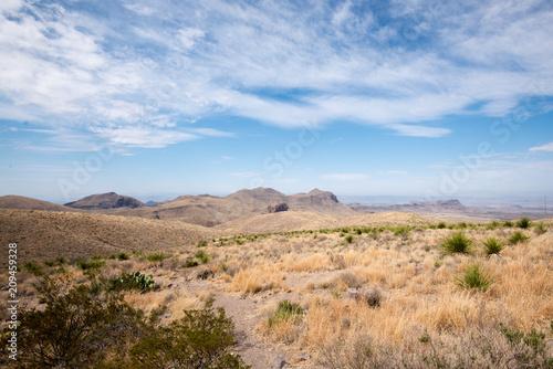 Spoed Foto op Canvas Verenigde Staten View from Sotol Vista, Big Bend National Park, Texas