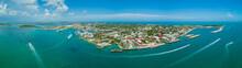 Aerial Panorama Key West Flori...