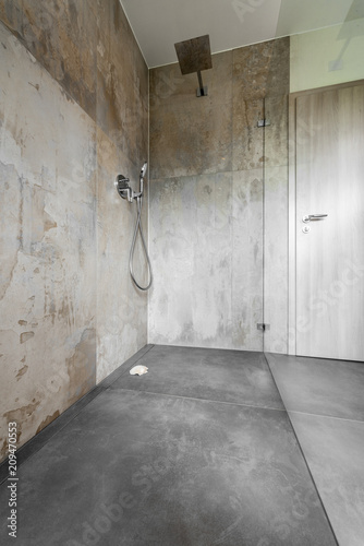 Modernes Badezimmer Dusche Glas Buy This Stock Photo And Explore