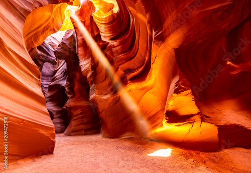 Deurstickers Centraal-Amerika Landen Upper Antelope Canyon