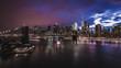 Stormy New York Night