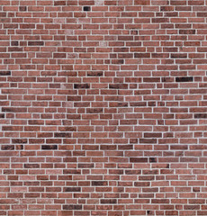 Seamless red brick random color wall texture for loft
