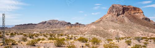 Spoed Foto op Canvas Verenigde Staten Cerro Castellan, Big Bend National Park, Texas