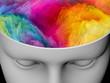 canvas print picture - Brain Fog