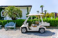 Golf Cart Modifed To Be An Gar...