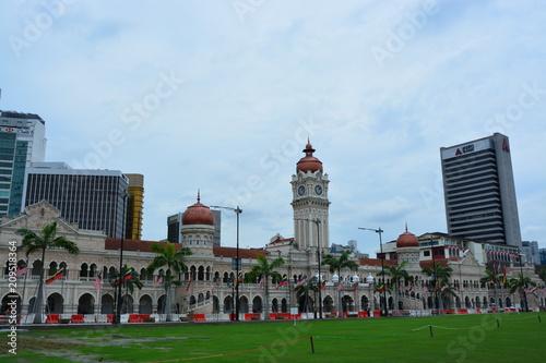 Keuken foto achterwand Kuala Lumpur マレーシアクアラルンプールのスルタンアブドゥルサマドビル