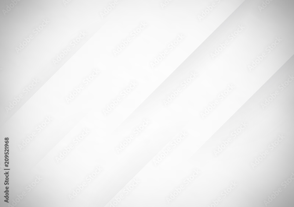 Fototapeta Abstract gray vector background with stripes