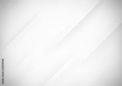 Obraz na plátne Abstract gray vector background with stripes