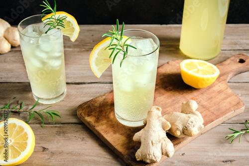 Photo  Ginger Ale or Kombucha